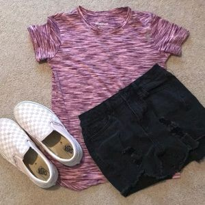 Athletic Pink Tee